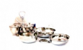 Stainless Steel Balti Dinner Set